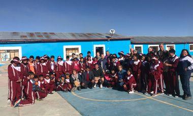 Visueel van project Fournir du matériel à une école Péruvienne