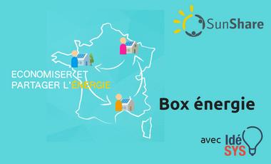 Visuel du projet SunShare - boxénergie pour le troc d'électricité