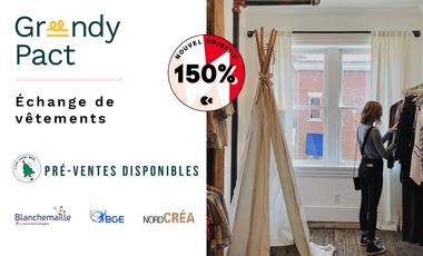 Visueel van project Greendy Pact : renouvelez votre dressing sans acheter un seul vêtement