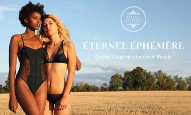 Project visual ÉTERNEL ÉPHÉMÈRE - La lingerie poétique