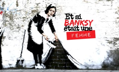 Visuel du projet Et si banksy était une femme