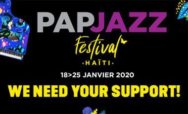 Visueel van project PAPJAZZ FESTIVAL HAITI 2020, 14th EDITION