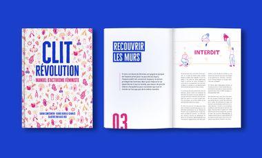 Project visual Clit Révolution, manuel d'activisme féministe