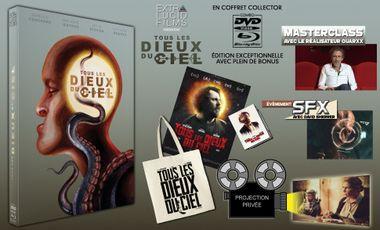 Visuel du projet Tous les dieux du ciel en version collector dvd/blu-ray