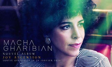 Visuel du projet Nouvel album JOY ASCENSION de Macha Gharibian
