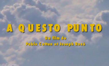 """Visueel van project """"A Questo Punto"""" court-métrage pour février 2020 !"""