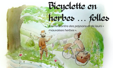 Visuel du projet Bicyclette en herbes… folles
