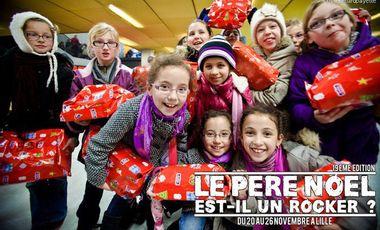 """Visueel van project """"Le Père Noël est-il un Rocker ?"""" - 19ème édition"""