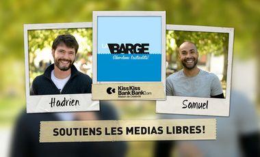 Visuel du projet La Barge // Talk Show