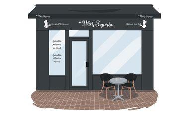 Visueel van project LE TRES SUPERBE pâtisserie salon de thé