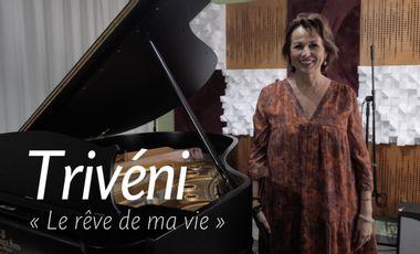 """Visuel du projet """"Les mots d'amour"""", premier album de Trivéni !"""