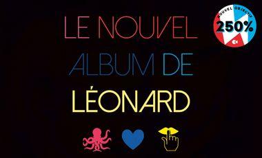 Visuel du projet Léonard : l'album !