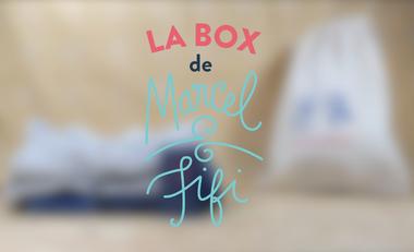 Visueel van project La Box de Marcel & Fifi