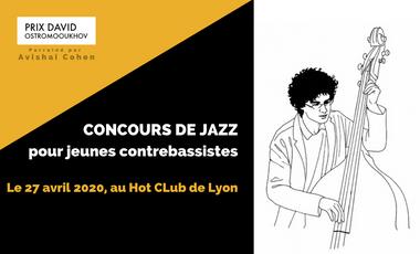 Visuel du projet Prix David Ostromooukhov - Concours de jazz pour jeunes contrebassistes