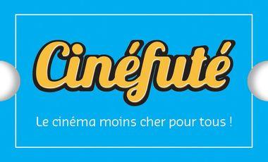 Visueel van project Cinefute.com : Le cinéma moins cher pour tous