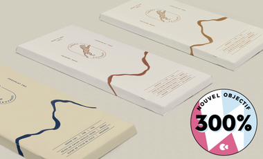 Visueel van project CARRÉS SAUVAGES : le chocolat qui vous veut du bien !