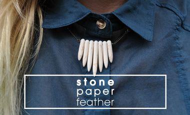 Visuel du projet Stone Paper Feather