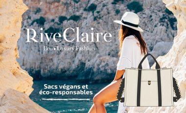 Project visual Rive Claire® - Haute maroquinerie végane et éco-responsable