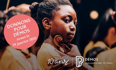 Visuel du projet Donnons pour Démos - à chaque enfant son instrument