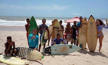 Visueel van project Faites vivre le Clube Aquatique de sitio do Conde ( CASC) a Bahia au Brésil