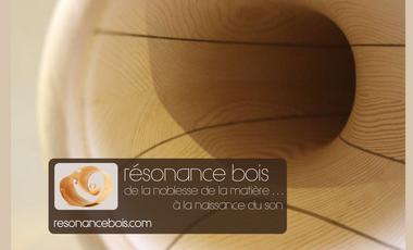 Project visual Résonance bois : de nouveaux instruments de musique