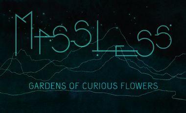 """Visueel van project Sortie premier album de MASSLESS """" Gardens of curious flowers"""""""