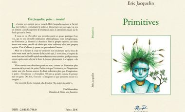 Visueel van project Edition du livre Primitives de Eric Jacquelin