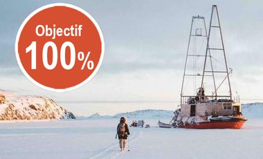 Project visual Artists in the Arctic, an artistic project in an extreme environment
