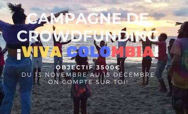 Project visual Récolte de fonds pour une mission humanitaire en Colombie - BDH EM STRASBOURG