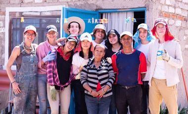Visueel van project Un toit pour mon pays TECHO