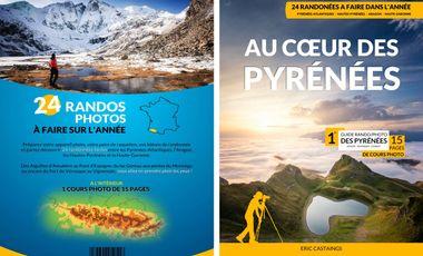 Visuel du projet J'irai photographier les Pyrénées, le 1er topo/photos des Pyrénées