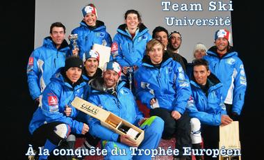 Visueel van project Team Ski Université - À la conquête du trophée Européen