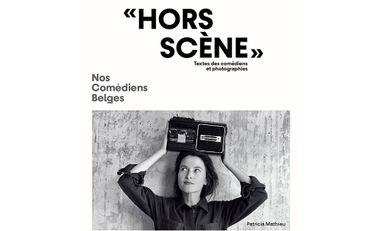 """Visuel du projet """"Hors scène"""" Nos comédiens belges"""