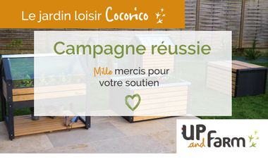 Visueel van project UP and Farm, le jardin loisir cocorico