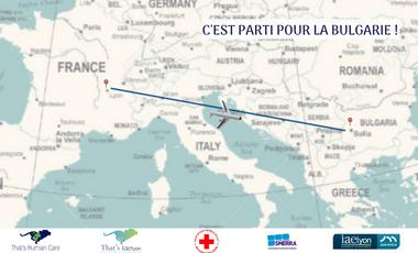 Project visual That's Human Care II vient en aide aux réfugiés en Bulgarie