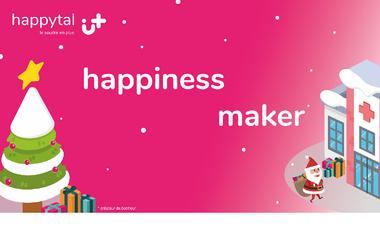 Project visual happytal - Faisons de Noël un moment joyeux à l'hôpital pour les enfants ! 🎅🏼