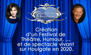 Project visual Festival de Théâtre et spectacle vivant