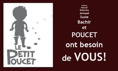 """Visuel du projet Aidez-nous à finaliser le CD du conte musical """"LE PETIT POUCET""""!"""
