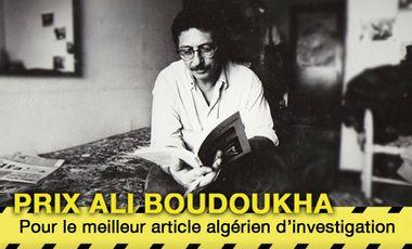 Project visual 3e édition du Prix Ali Boudoukha du meilleur article d'investigation algérien