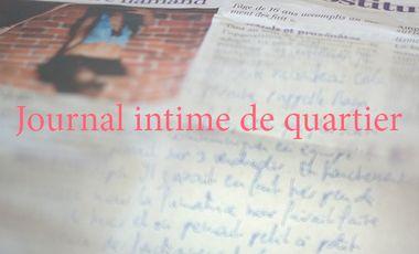 Visueel van project Journal intime de quartier