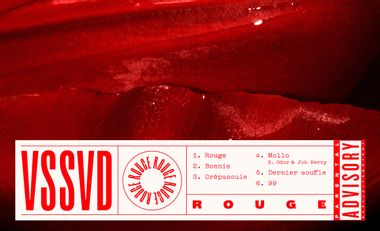 Visueel van project VSSVD // Nouvel EP : ROUGE