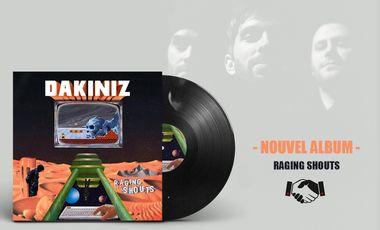 """Visueel van project DAKINIZ : """"Raging Shouts"""" // Nouvel album"""