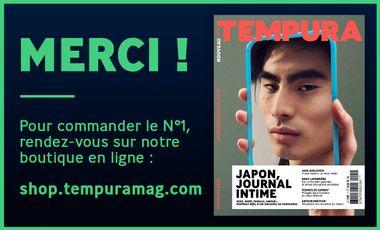 Visuel du projet TEMPURA, le nouveau magazine trimestriel sur les cultures du Japon