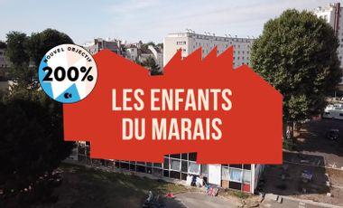 Visueel van project Les enfants du Marais - Destins croisés au coeur du plus grand squat de France