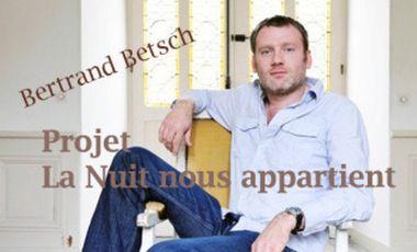 """Visuel du projet """"La nuit nous appartient"""", double album de Bertrand Betsch"""