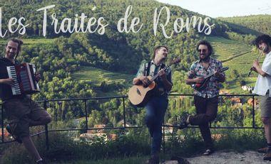 Project visual Aide au financement du 1er album du groupe Les Traités de Roms