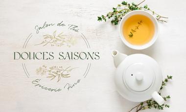 Visuel du projet Lancement de Douces Saisons épicerie fine, salon de thé