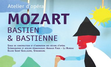 Project visual BASTIEN & BASTIENNE Atelier d'opéra