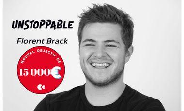 Visuel du projet Premier EP de Florent Brack (gagnant The Voice Belgique 2015)