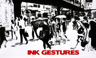Visuel du projet Ink gestures